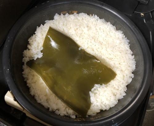 らっきょう寿司のご飯