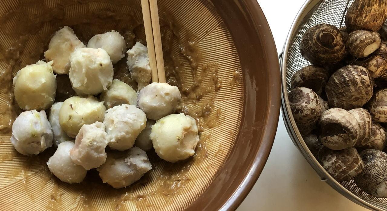 里芋の田楽