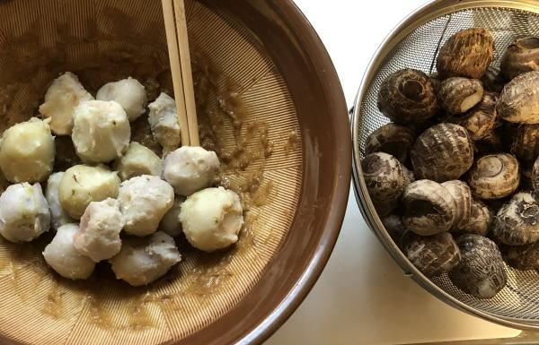 里芋の田楽作り方