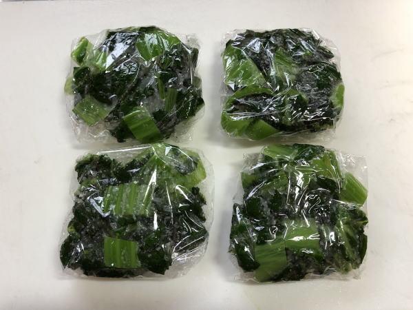高菜の保存