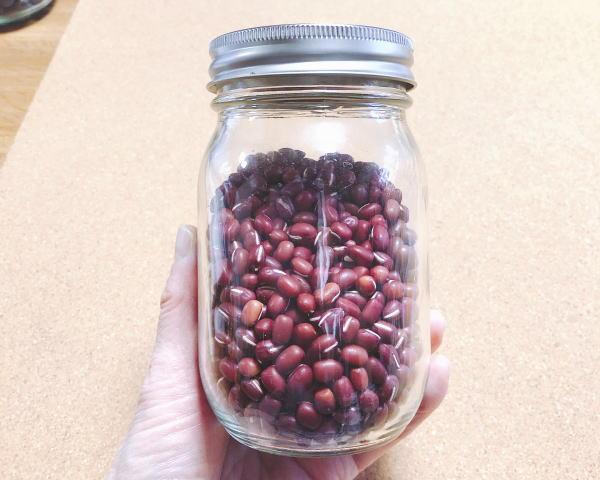 小豆の保存