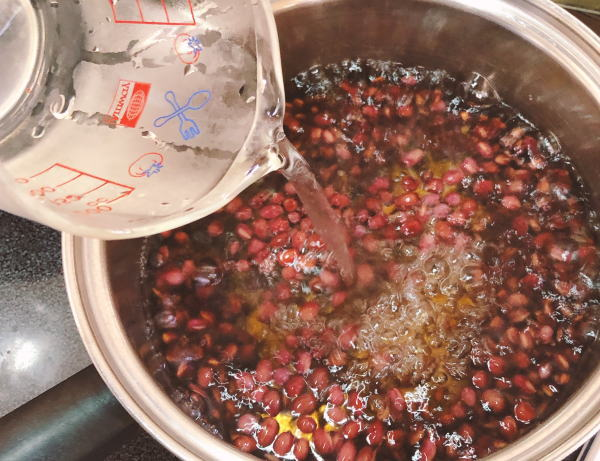 小豆の炊き方
