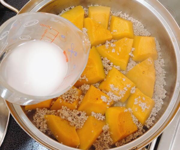 かぼちゃのそぼろ煮レシピ