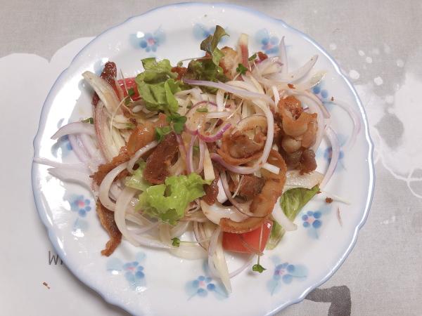 豚バラ肉カリカリ焼き