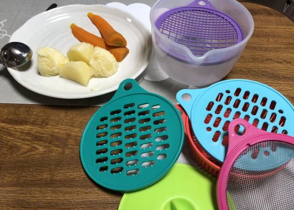 離乳食づくりに便利な調理道具