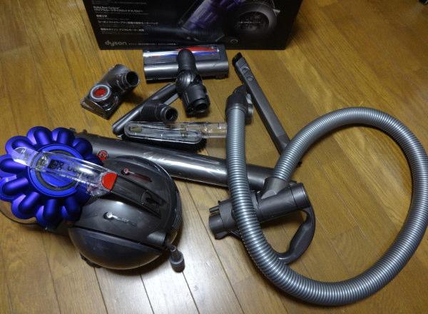 ダイソンキャニスター式掃除機